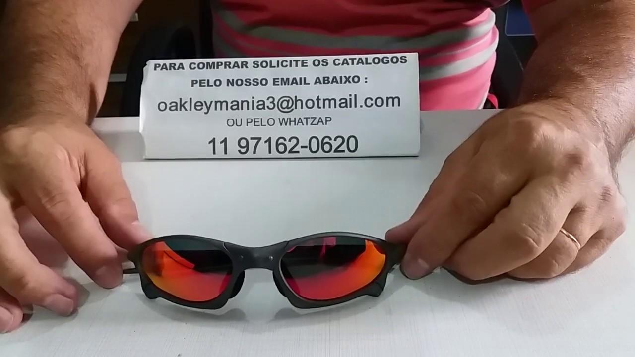 a842fc715 Oculos Oakley Penny Xmetal lente Vermelha Red Polarizada - YouTube