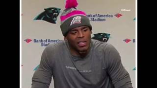 """""""But did you like it"""" Cam Newton Funny Interview"""