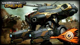 Mechwarrior online - Marauder 5T gameplay