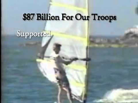 Historical Campaign Ad  Windsurfing (Bush-Cheney '04).flv