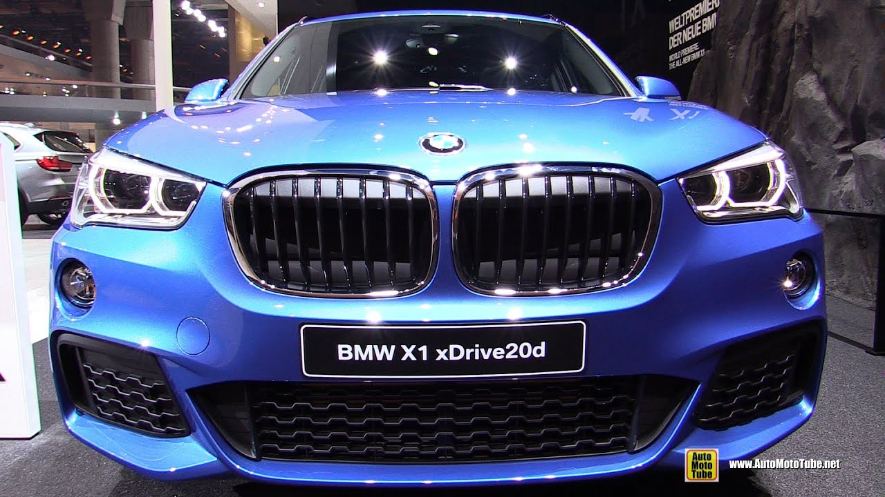 2016 bmw x1 xdrive 20d m sport exterior interior walkaround debut at 2015 frankfurt motor show. Black Bedroom Furniture Sets. Home Design Ideas