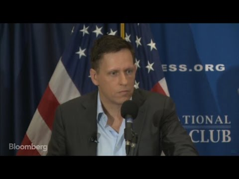 Thiel: Trump Right on Trade, Supporters Tired of War