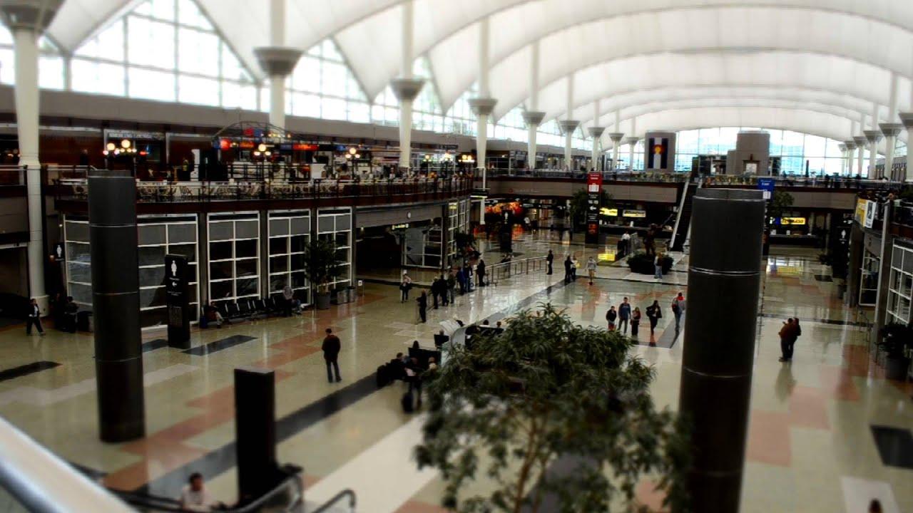 Passenger Pickup Inside Denver International Airport