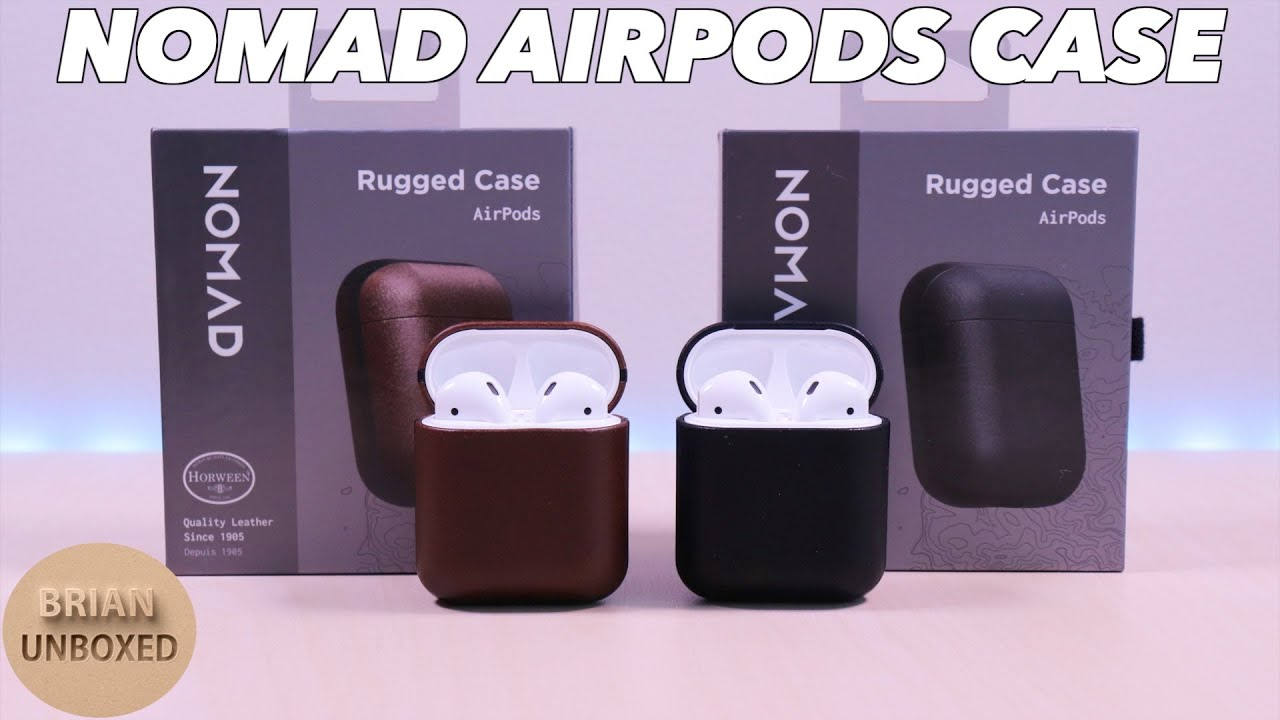 big sale 888df 79801 NOMAD Rugged AirPods Case - Protection with added style!