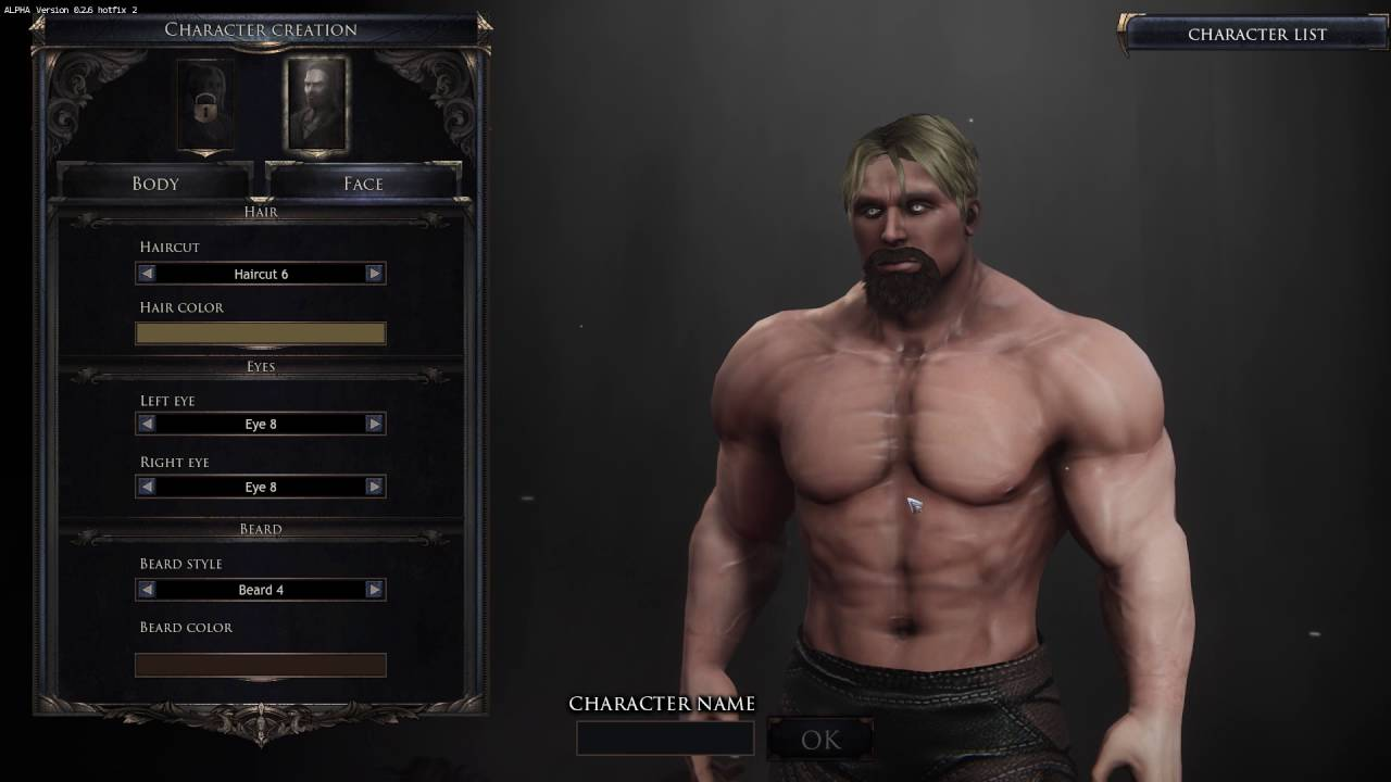 Update 0 2 7 : Character Customization ! - Forum - Wolcen