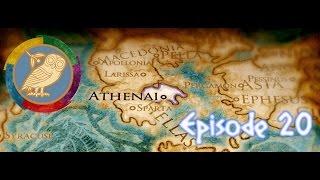 ROME II TOTAL WAR [S.1][SOLO][ATHÈNES] ~ EPISODE 20 ~ Un ennemi féroce