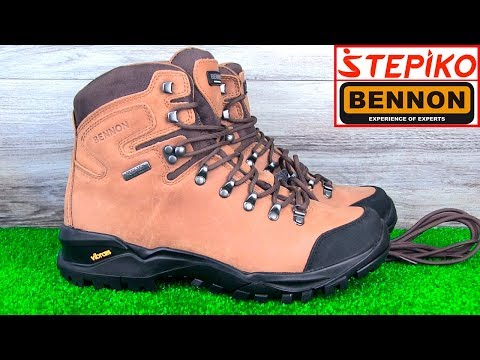 Трекинговые ботинки BENNON Terenno High. Видео обзор от STEPIKO