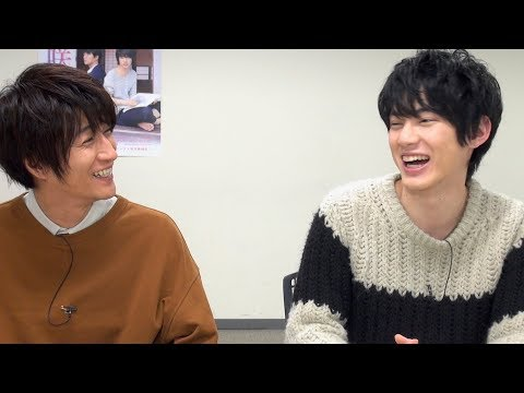 BL映画出演の渡邊剣と天野浩成キスシーンの感想は/映画花は咲くか インタビュー