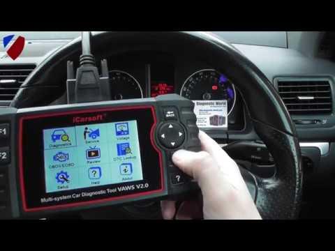 iCarsoft VAWS V2 0 VW Audi Seat Skoda MULTI - System, DPF