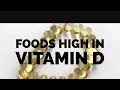 5 Foods High in Vitamin D | Vegan | Vegetarian | Healthy Tip