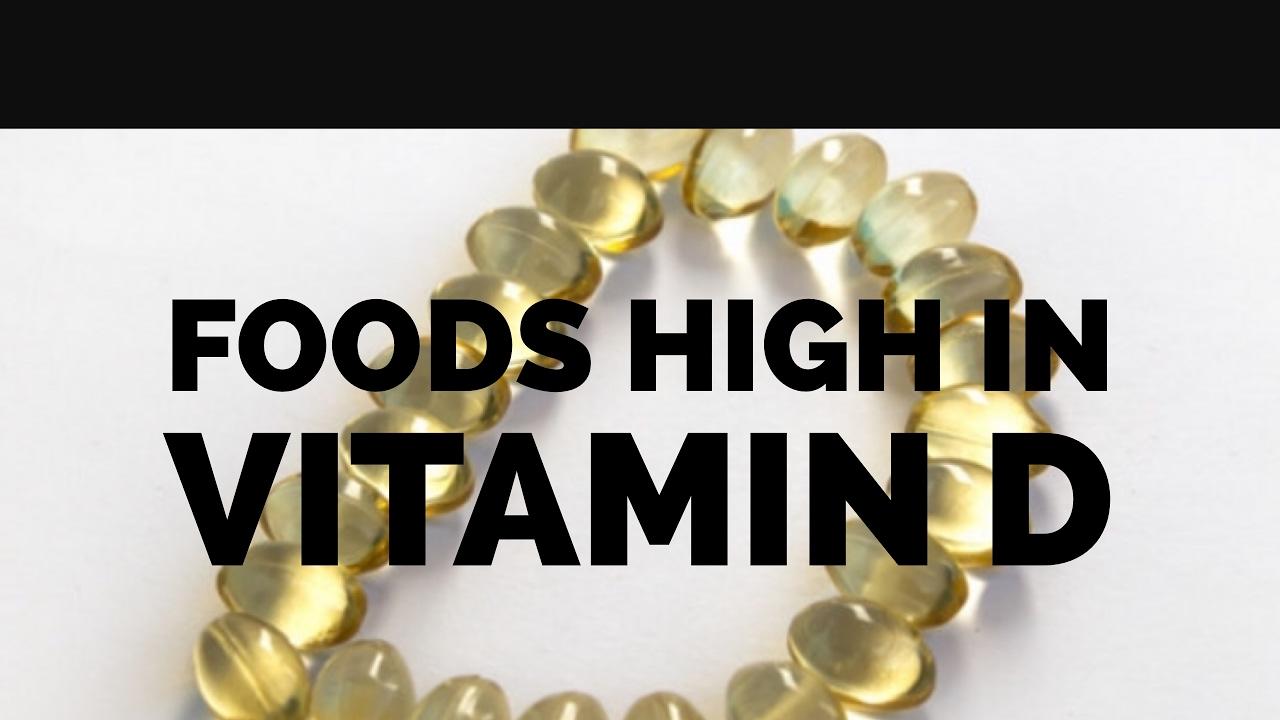 5 Foods High in Vitamin D | Vegan | Vegetarian | Healthy ...