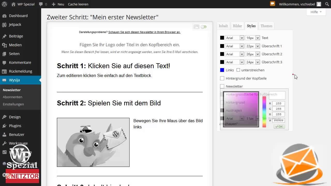 autoresponder newsletter software deutsch email kostenlos gratis profi blog wpspezial youtube. Black Bedroom Furniture Sets. Home Design Ideas
