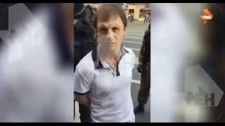 Смотреть видео Видео задержания «вора в законе» Рубена Ивановского в Санкт   Петербурге .  Русский криминал. онлайн