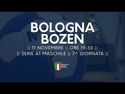 Serie A1M [7^]: Bologna - Bozen 22-25