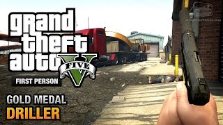 GTA 5 - Mission #77 - Driller [First Person Gold Medal Guide - PS4]