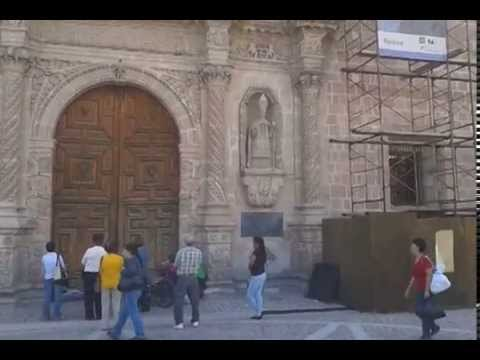 """(1/4) Historic """"Catedral Basilica"""" in Aguascalientes, Mexico"""