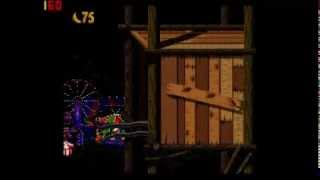Donkey Kong Country 2 102% Walkthrough Part 5 - Rollercoasters and Beehives