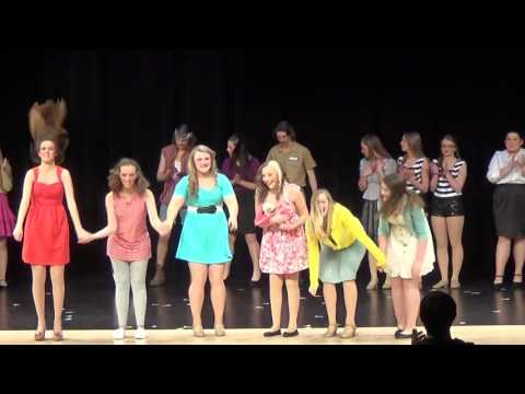 """Knoxville High School 'Legally Blonde"""" Curtain Call"""