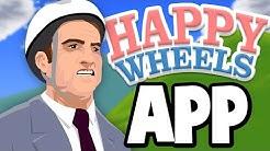 THE HAPPY WHEELS APP IS BAD (Happy Wheels App)