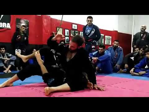 JiuJitsu - Y Guard to the back - Felipe Costa BJJ