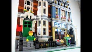 LEGO Modular Buildings 10218 Zoohandlung Review +
