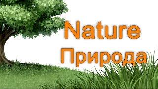Природа на английском языке.  English Vocabulary - Nature