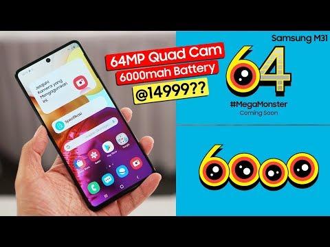 samsung-galaxy-m31-officially-confirmed---64mp-quad-camera,-6000mah-battery-@14999??-poco-x2-killer!