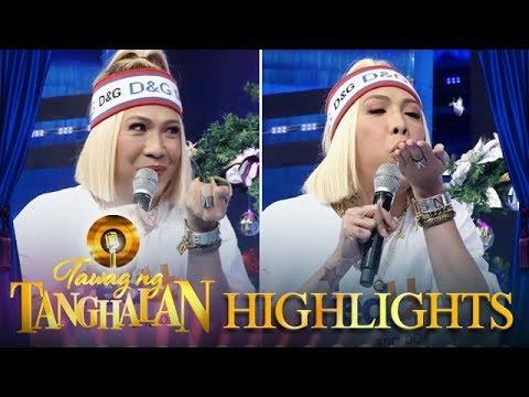 Tawag ng Tanghalan: Vice makes a wish on a confetti