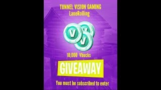 FORTNITE VBUCK GIVEAWAY - 10,000 TOTAL VBUCKS AND 10 WINNERS!