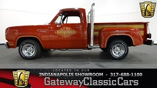 1979 Dodge D100 Li'l Red Express - Gateway Classic Cars Indianapolis - #715 NDY