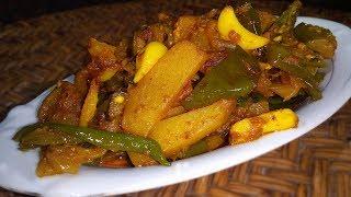শুটকি রেসিপি || আলু বেগুন দিয়ে চ্যাপা শুটকি রান্না || Chyapa Shutki Recipes