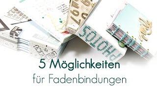 5 Möglichkeiten | Fadenbindungen