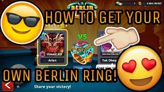 8BP - Getting My 32nd Berlin RING!! - GIVEAWAY WINNER!