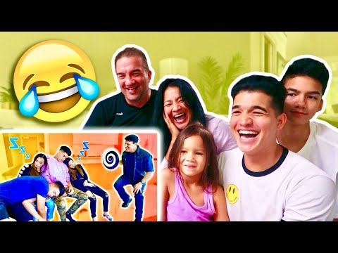 IT WAS ALL FAKE?! (Family REACTS to getting HYPNOTIZED)