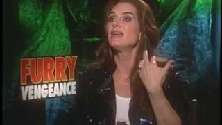 """Brooke Shields Talks About """"Furry Vengeance"""""""