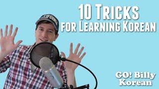 10 Tricks for Learning Korean