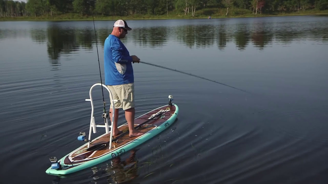Stand up paddle board frog fishing dave mercer 39 s facts of for Facts about fishing