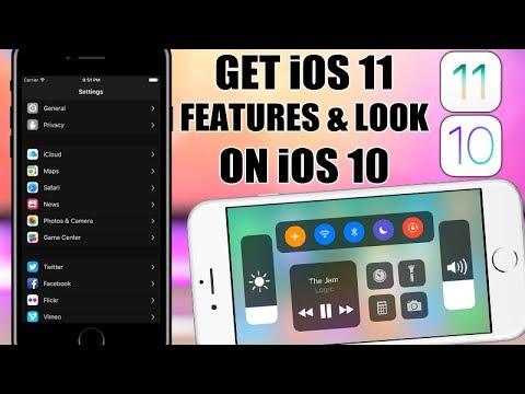 Get iOS 11 Features & Look On iOS 10 (Jailbreak)