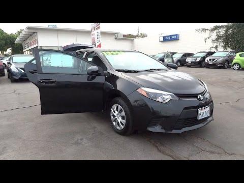 2014 Toyota Corolla San Bernardino, Fontana, Riverside, Palm Springs, Inland Empire, CA P8661R