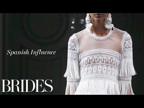 Fall 2016 Wedding Dress Trend: Spanish Influence