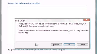 How to fix: A Required CD/DVD Drive Device Driver is Missing - SOLVED Windows 7/8/8.1