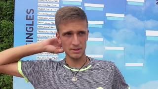 Vít Kopřiva po vítězství v 1. kole Rieter Open Pardubice 2018