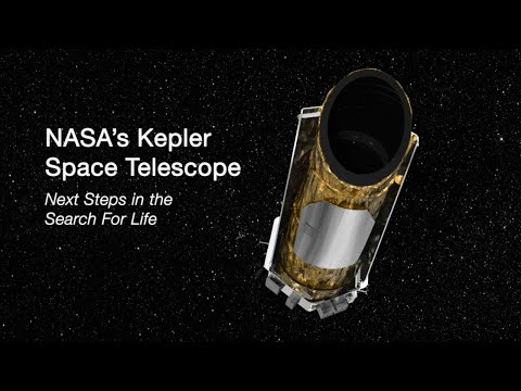 NASA's Kepler Space Telescope: Next Steps in the Search for Life