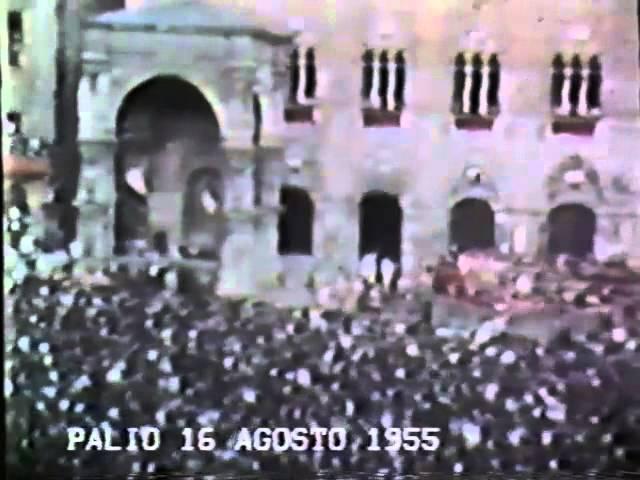 Palio 16 agosto 1955