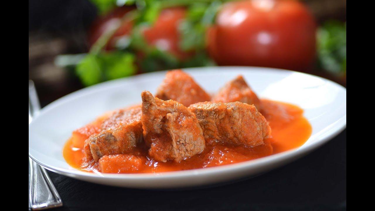 Carne en salsa de morita  YouTube