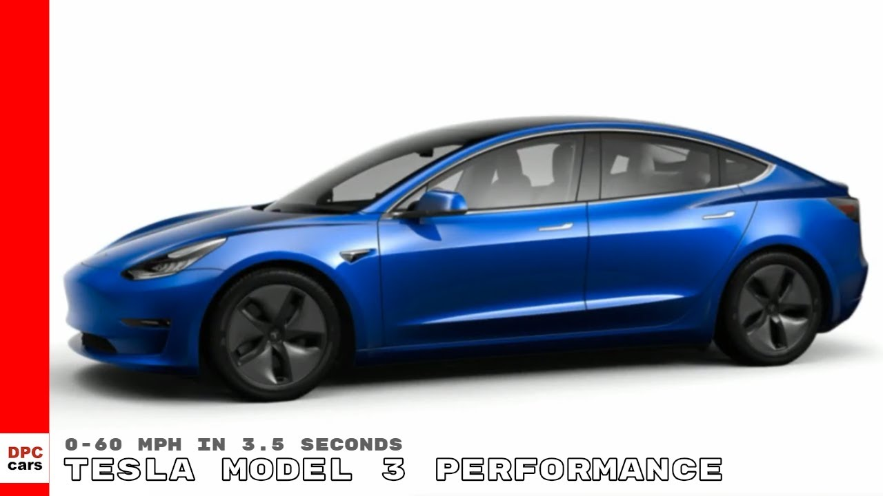 Tesla Model 3 Performance Dual Motor All Wheel Drive