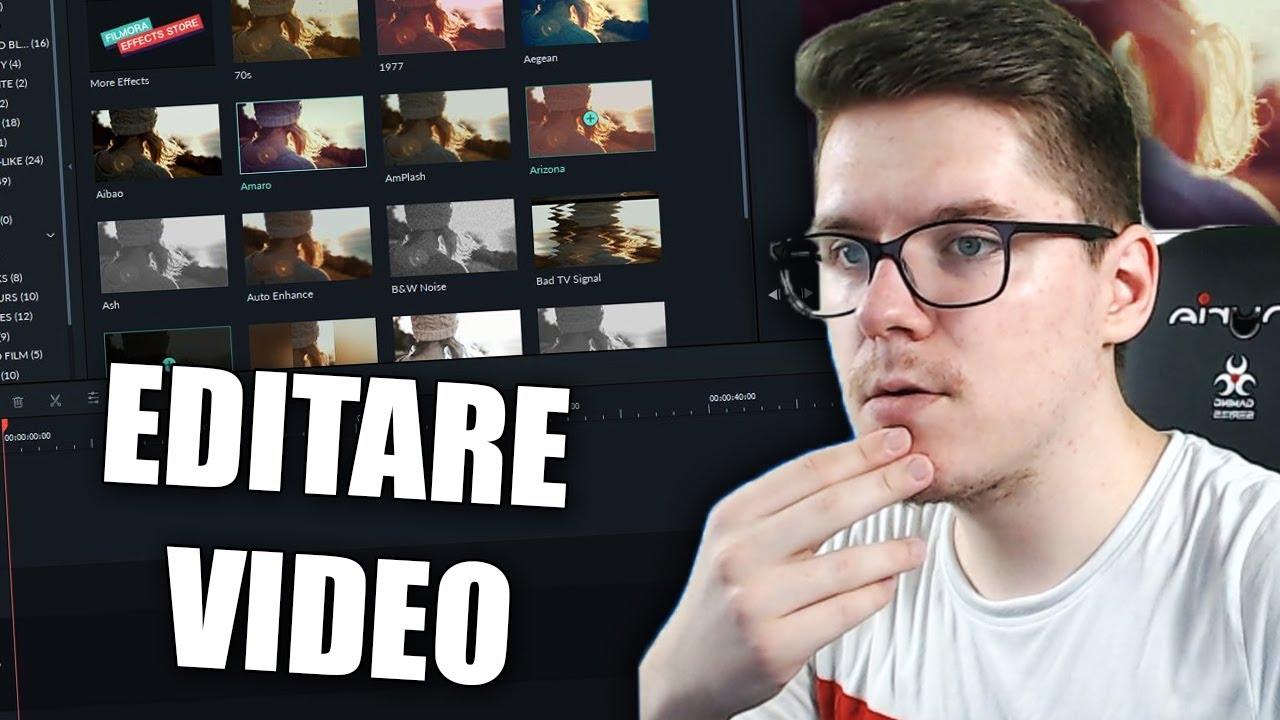 CEL MAI BUN PROGRAM DE EDITARE VIDEO *pentru incepatori*