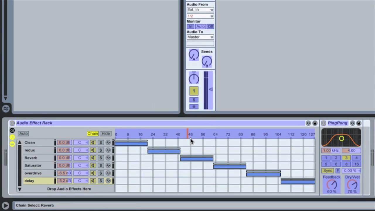 ableton live instrument chain