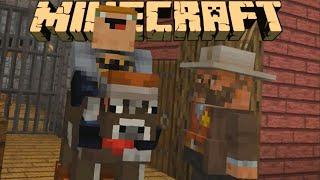 JAŠEMO KRAVU NA DIVLJEM ZAPADU!!! Minecraft epizoda 5.