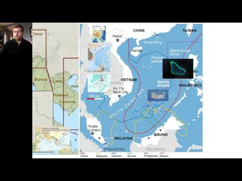 Disputed Waters in Asia